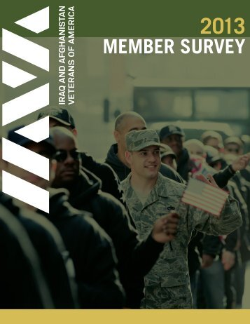 MEMBER SURVEY - Iraq and Afghanistan Veterans of America