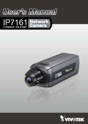 Vivotek IP7161 User Manual - Use-IP