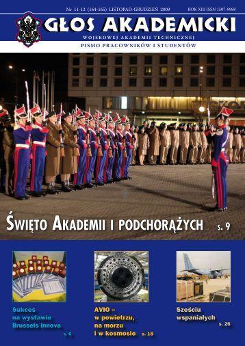 święto akademii i podchorążych - Wojskowa Akademia Techniczna