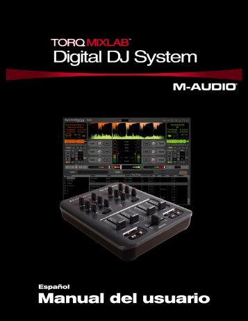 Manual de instrucciones de Torq MixLab - M-Audio