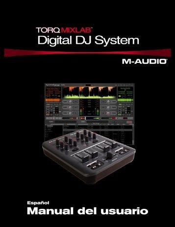Manual de instrucciones de Torq MixLab - M-Audio