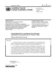 Fortalecimiento de la coordinación de la asistencia ... - Acnur