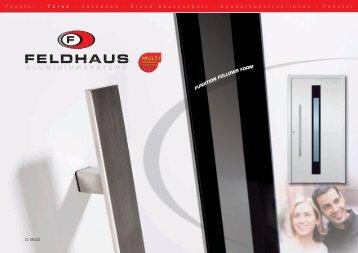 Feldhaus Katalog - Behr Fenster