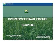OVERVIEW OF BRAZIL BIOFUEL BUSINESS - IEA Bioenergy Task 40