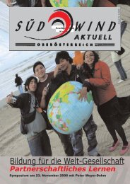 Bildung für die Welt-Gesellschaft - OneWorld