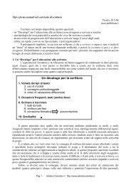 Tipi e forme testuali nel curricolo di scrittura - Adrianocolombo.it
