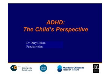ADHD: The Child's Perspective