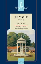 Tattersalls July Sale 2010