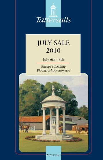 Tattersalls July Sale 2010