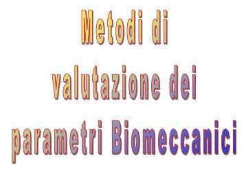 Strumenti per l'analisi Biomeccanica - Docente.unicas.it