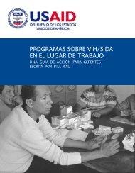 Programas sobre vih/sida en el lugar de trabajo - Health Policy ...
