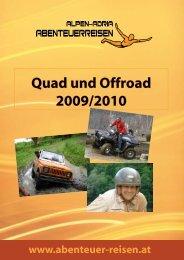 Quad und Offroad 2009/2010 - Abenteuer Reise in Österreich