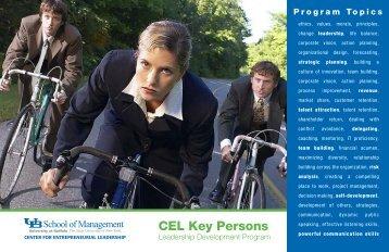 CEL Key Persons