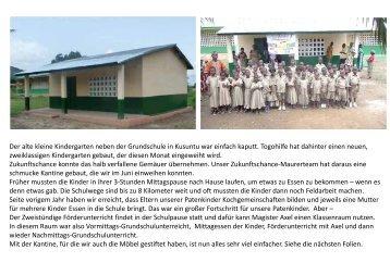 lesen mit 4 Fotofolien - Togo-Kinder Zukunftschance eV