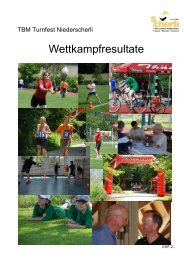 Rangliste TBM Turnfest Niederscherli 2007 - Turnverein Flamatt ...