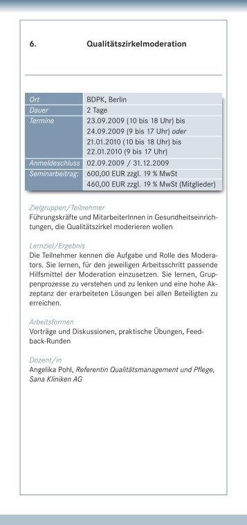6. Qualitätszirkelmoderation - IQMG Institut für Qualitätsmanagement ...