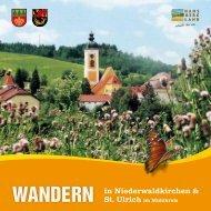 Niederwaldkirchen und St. Ulrich - Hansbergland