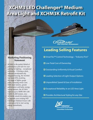 XCHM3 LED Challenger and Retrofit Kit - LSI Industries Inc.