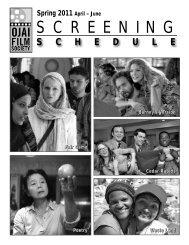 Spring 2011 - Ojai Film Society