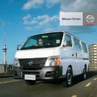 Nissan Urvan - Nissan New Zealand