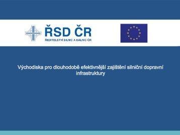 Transformace ŘSD ČR (237 kB) - Ředitelství silnic a dálnic