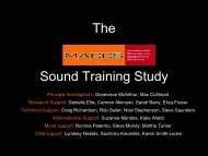 Sound discrimination training in children with specific language ...
