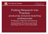 Putting Research into Practice: - CHERI - The Children's Hospital ...