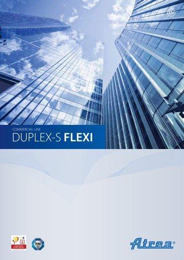 DUPLEX 1100 – 3600 Flexi Marketing catalogue - ATREA sro