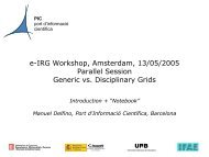 PIC - e-Infrastructure Reflection Group - e-IRG