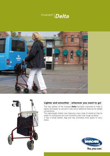 Invacare® Delta - The Mobility Aids Centre
