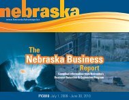 Nebraska Business - Nebraska Department of Economic Development