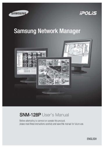 User's Manual 0 - Samsung CCTV