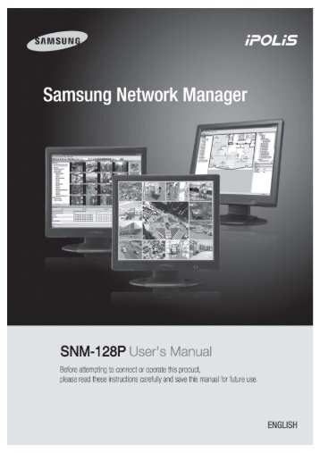 User's Manual 0 - Samsung CCTV