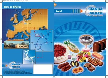 Food How to find us - AutoFoam Systems, Ltd