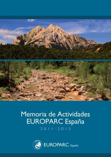 [NUEVO] Memoria 2011-2012 - EUROPARC-España