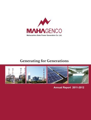 annual report 2011-2012 - Mahagenco