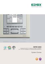 Elvox Serie 6800 Freisprechmonitor