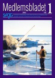 Medlemsblad 1 2003 - SFOG