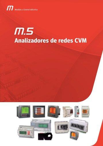 Analizadores de redes CVM - Dielectro Industrial