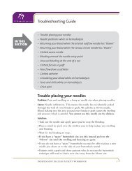 Troubleshooting Guide - BC Renal Agency