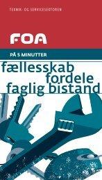 Medlemsorganisering: Teknik-Service - FOA