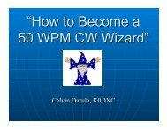 """""""How to Become a 50 WPM CW Wizard"""" - Kkn.net"""