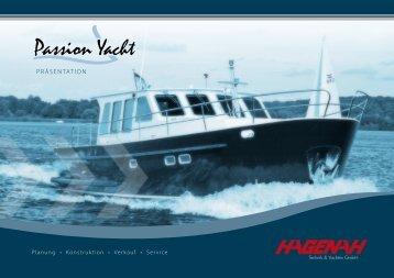 Passion Yacht PROSPEKT (PDF, ca. 2 MB) - HAGENAH Technik ...