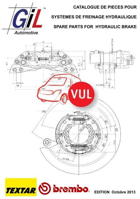 Etrier frein essieu avant gauche Nissan INTERSTAR x70 Opel Movano Renault Master 1