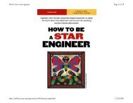How to be a star engineer - UCSD VLSI CAD Laboratory