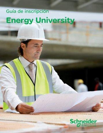 Guía de inscripción Energy University - Schneider Electric