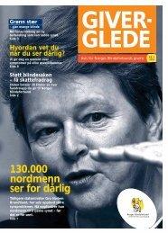 130.000 nordmenn ser for dårlig - Norges Blindeforbund