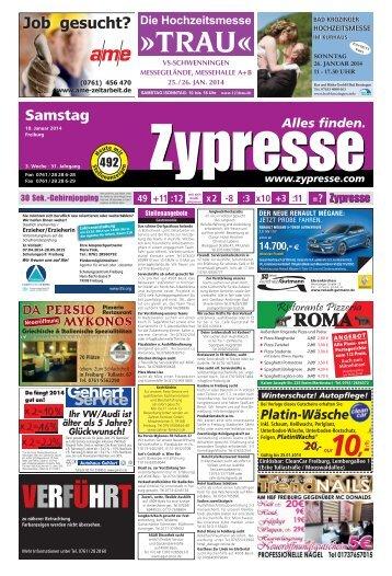FR Samstag (Page 1) - Zypresse