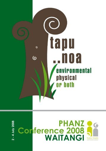 2008 – Tapu Noa - Environmental physical or both - Public Health ...