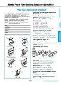 Pneu-Turn Rotary Actuators - x-pro GmbH - Page 6